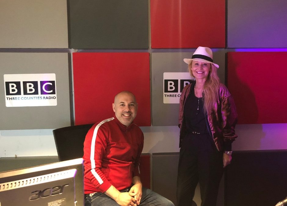 Big thank you to Nick Coffer over at BBC Three Counties for having me on the show!