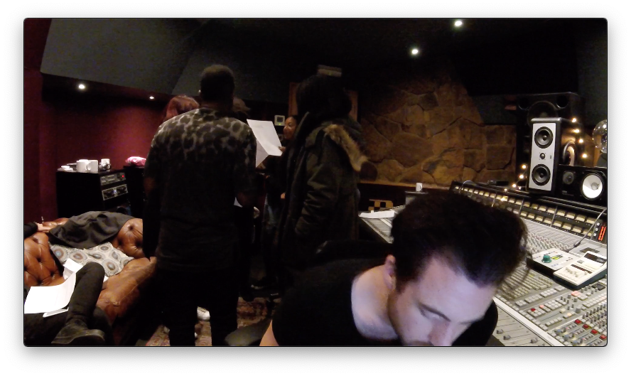 Rehearsing Backing Vocals at Konk Studios for 'Dance 'Til The Stars Go Out'